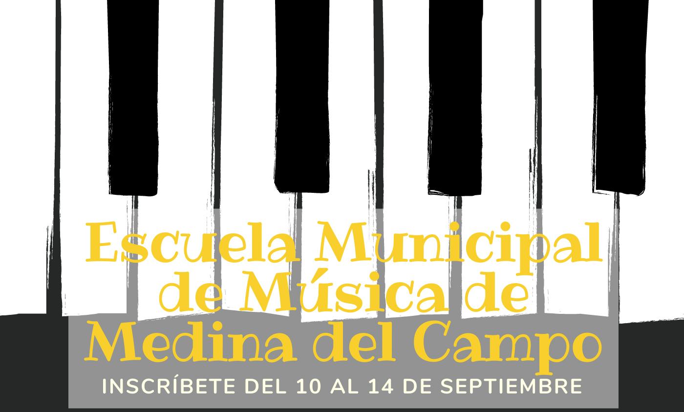 inscripción Escuela de Música Medina del Campo